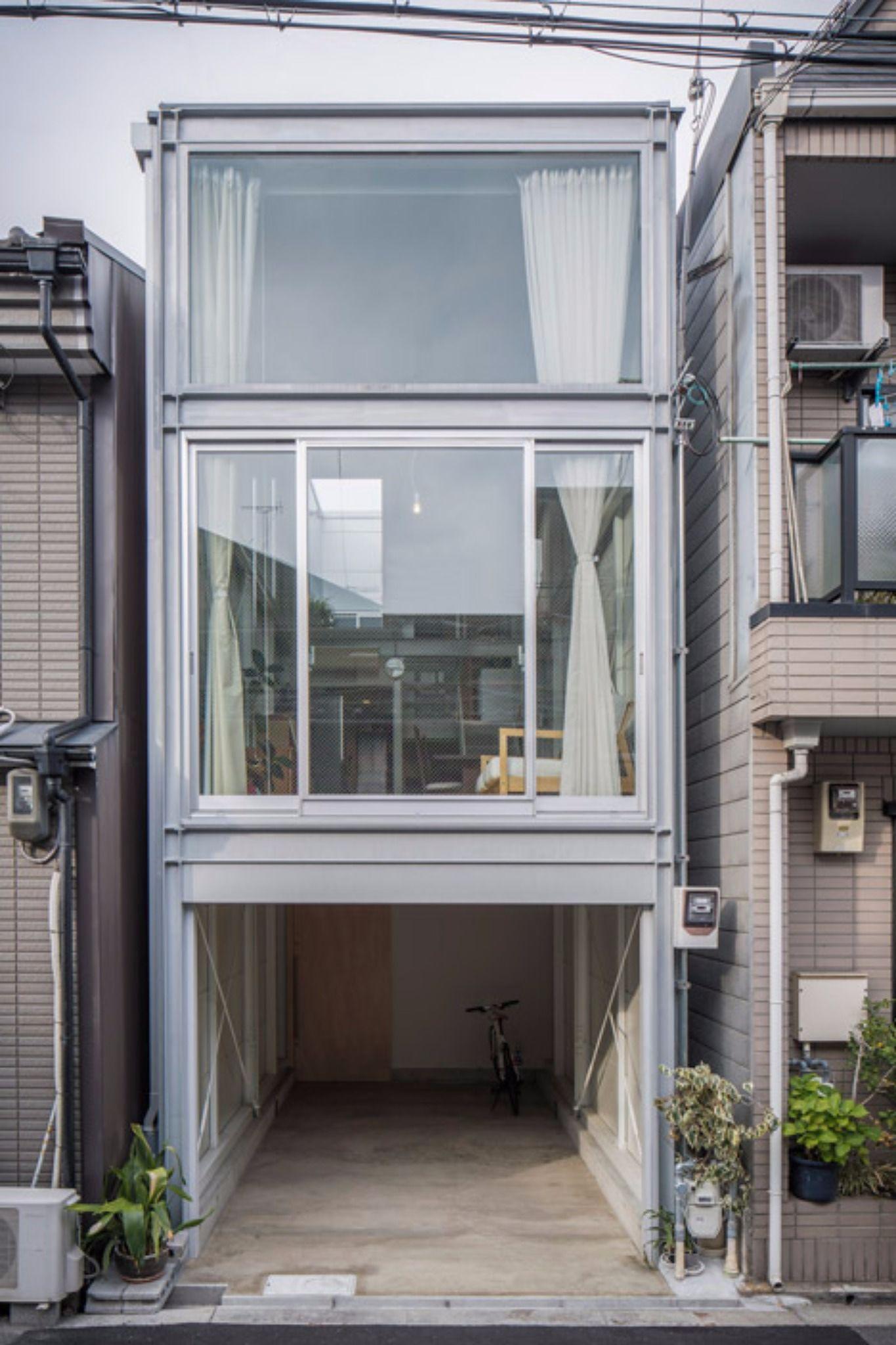 Minimal wazzadu - Small narrow house plans minimalist ...