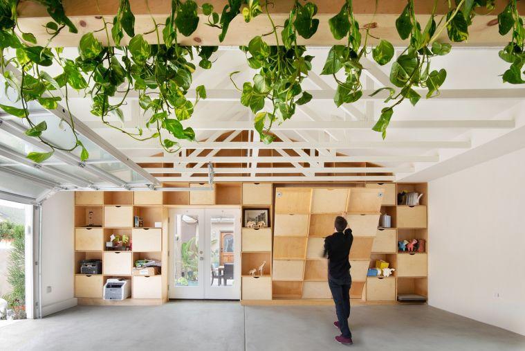 ตัวอย่างงานบิวท์อินโปรเจคต่างประเทศ San Diego Garage Conversion  Architects :Losada Garcia Architects,ModernGrannyFlat,Prismatica  Photographs :Rachel Pangi  ขอบคุณภาพประกอบจากarchdaily.com