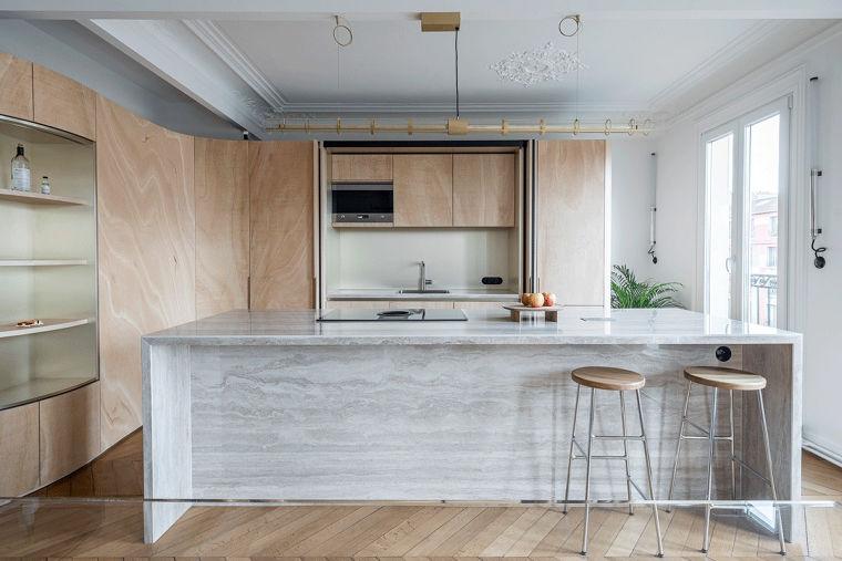 ตัวอย่างงานโปรเจคต่างประเทศ Apaetments Paris,France  Architects :Toledano+Architects  Photographs :Salem Mostefaoui  ขอบคุณภาพประกอบจาก www.archdaily.com