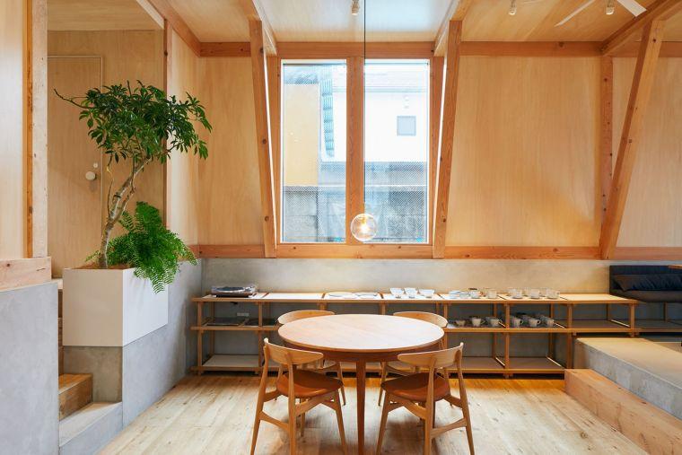 IDUMI Cafe-Residence/Tenhachi Architect & Interior Design  ขอบคุณภาพประกอบจาก www.archdaily.com