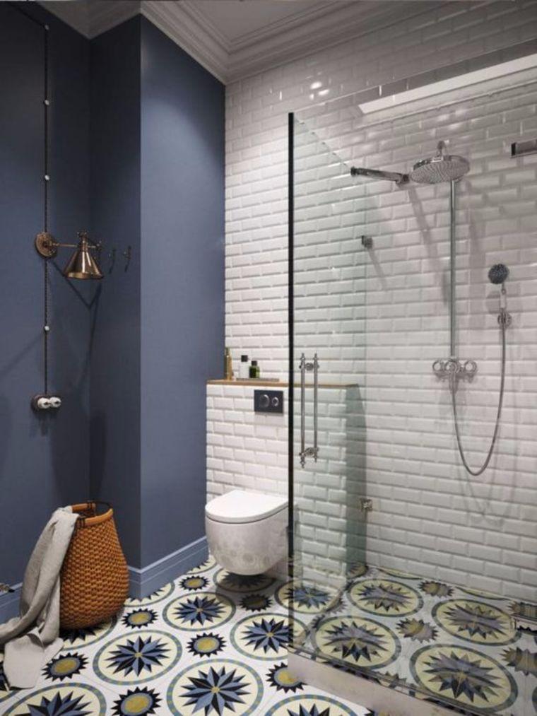 เอาไปใช้ รวม 20 แบบห้องน้ำเก๋ๆ ที่ตกแต่งด้วยกระเบื้องสวยๆหลากสไตล์ Wazzadu